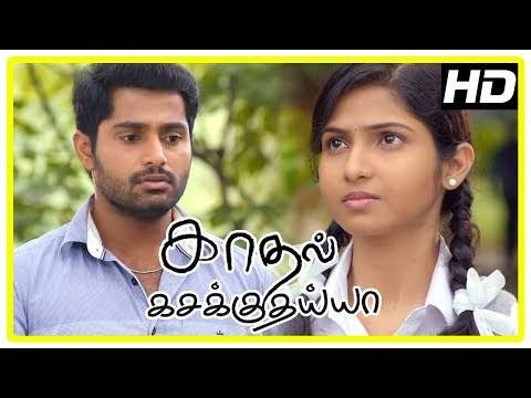 Kadhal Kasakuthaiya Movie Scenes | Venba requests Dhruvva to think again about her proposal
