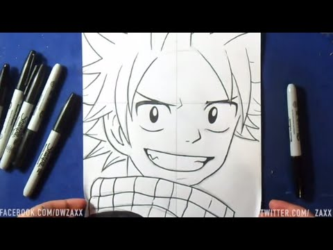 Comment Dessiner Natsu Dragneel Fairy Tail