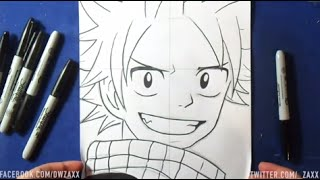 Comment dessiner Natsu Dragneel (Fairy Tail)