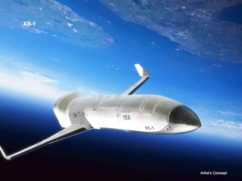 DARPA - XS-1 Unmanned Reusable Hypersonic Spaceplane Concept [480p]