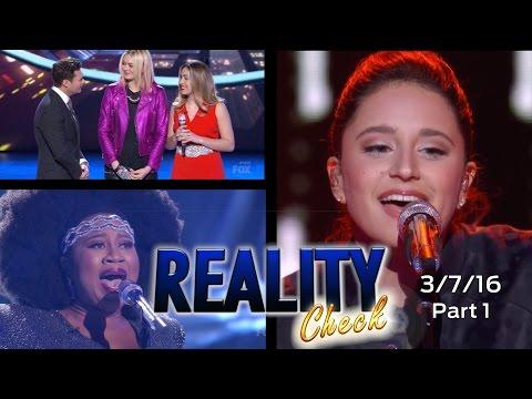 American Idol 2016 | Week 9 Top 8 | Reality Check Recap PART 1 OF 2