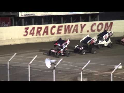 Sprint Invaders feature 34 Raceway 4/3/16