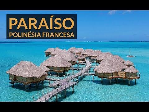 FRENCH POLYNESIA! The paradise island of Taha'a - YouTube