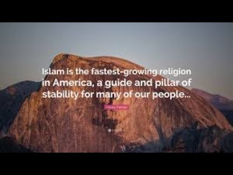 Islam is the fastest growing religion in US