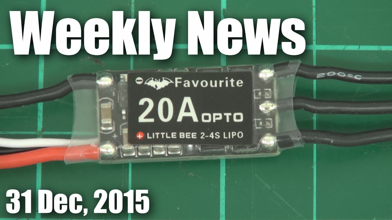 Last Weekly News for 2015