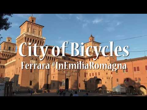 Cycling in Ferrara - Italian City of Bicycles in Emilia Romagna