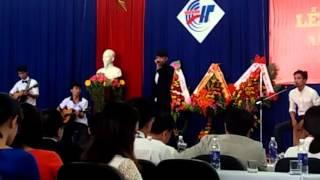 Quê hương tôi - Acoustic cover - Khải giảng Tân SV K9 Trường CĐ CNTT Việt-Hàn IT