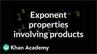 Exponent properties involving products | Numbers and operations | 8th grade | Khan Academy thumbnail