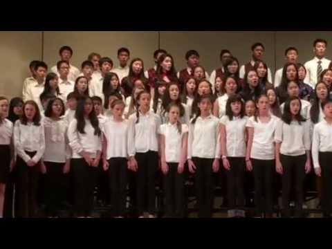 Taipei American School You Raise Me Up - YouTube