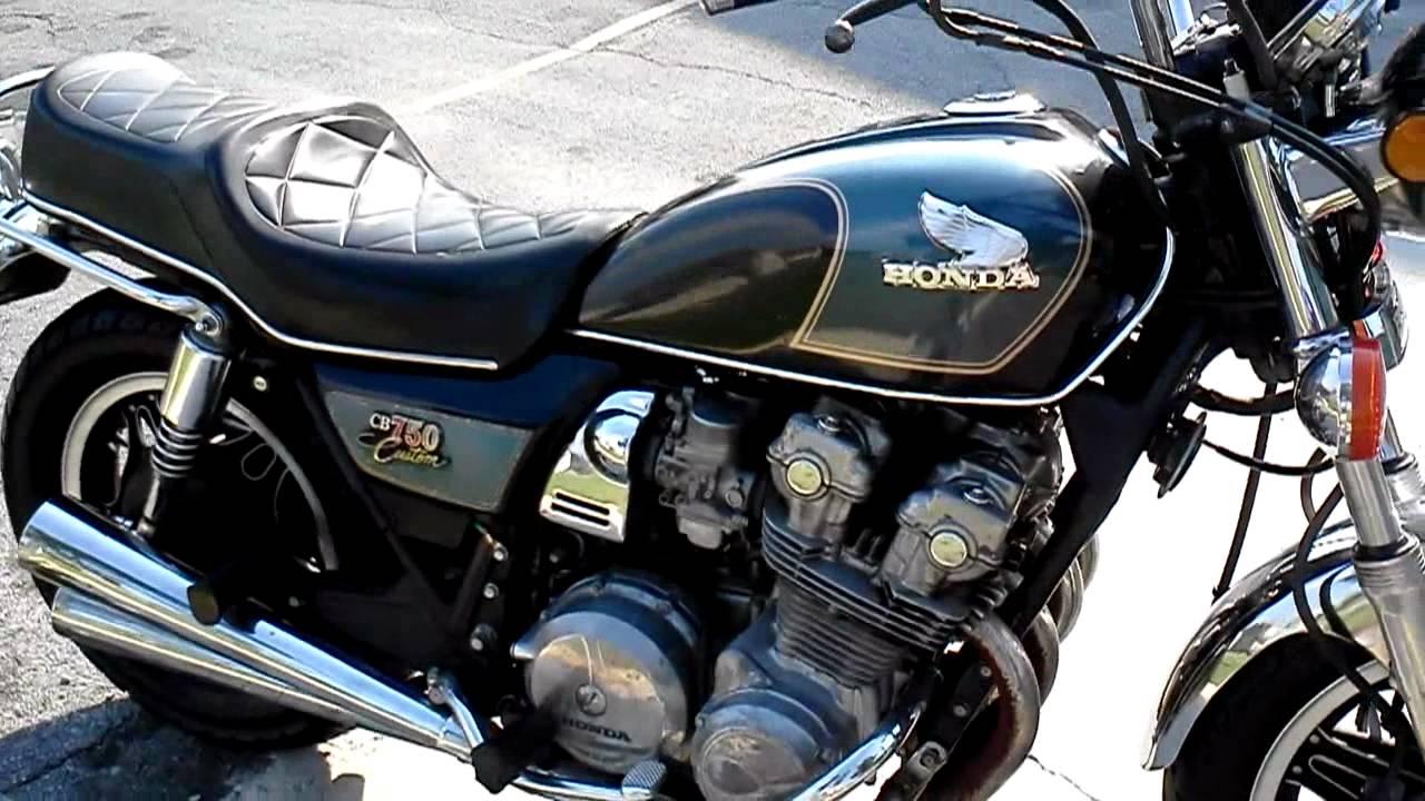 1981 Honda Cb750 Custom1000 Firmruns Great Youtube