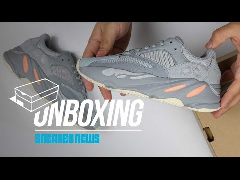 Best Yeezy 700 Since the Wave Runner? - Yeezy 700 Inertia Unboxing