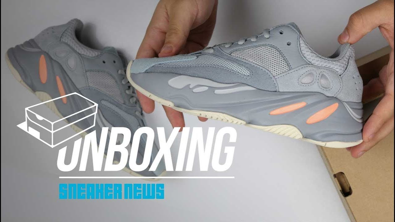 a26a5ccc2 Best Yeezy 700 Since the Wave Runner  - Yeezy 700 Inertia Unboxing. Sneaker  News
