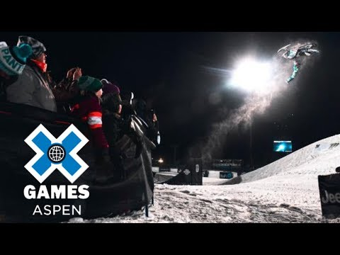 Snowmobile top moments at X Games Aspen 2018