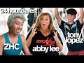 "ABBY LEE INSANE 24 HOUR ""YOU WON'T"" CHALLENGE ft/ Tony Lopez, ZHC, Rebecca Zamolo"