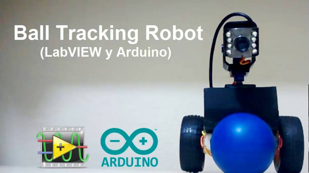 Ball Tracking Robot (LabVIEW y Arduino)