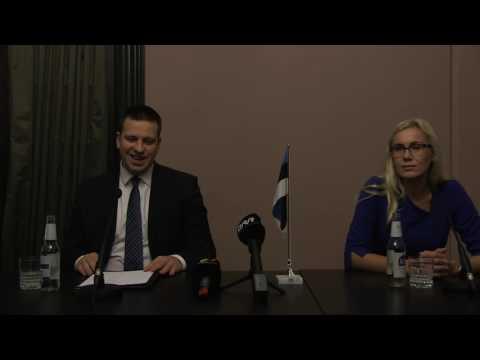 Jüri Ratas Pressikonverents 12.10.2016