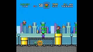 SMW Hack - Luigi's Misadventures: Tsux Namine's Factor (5)
