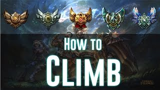 Tips For Climbing In Ranked Solo Queue   Low Elo Tips and Tricks