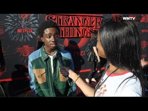 'Stranger Things' Season 3 World Premiere Red carpet Interviews