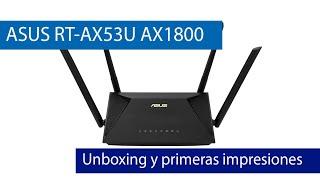 ASUS-RT-AX53U: Conoce este router WiFi 6 AX1800 con puertos Gigabit y USB por 85 euros