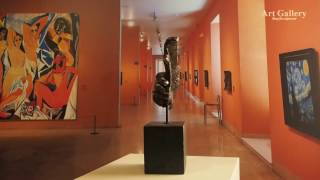 Escultura Amistad | Acabado Bronce Oscuro