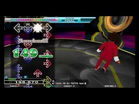 Dance Dance Revolution 2013 -dj TAKA VS DJ TOTTO feat.藍 - IX EXPERT