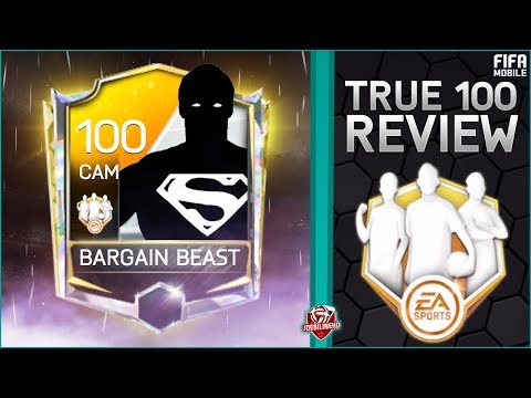FIFA MOBILE 18 True 100 #6 The Ultimate Bargain Beast #FIFAMOBILE 100 OVR TOTW TOMLIN PLAYER REVIEW