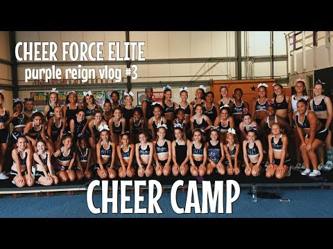 Cheer Force Elite   Purple Reign   Vlog 3