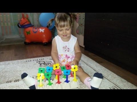 Развивающие игры для детей от 1 года: сенсорная коробка / Fine motor skills for toddlers