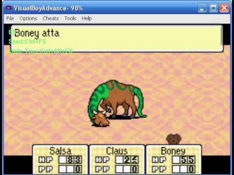 Mother 3 Wotw Challenge Battle 8 Cattlesnake Youtube
