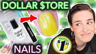 Dollar Store Nail Art Challenged (when the taco doesn\'t dry)
