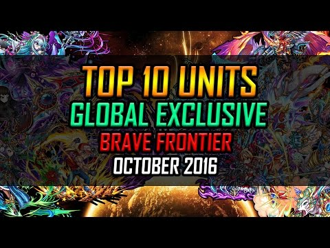 Top 10 GLOBAL EXCLUSIVE UNITS! October 2016