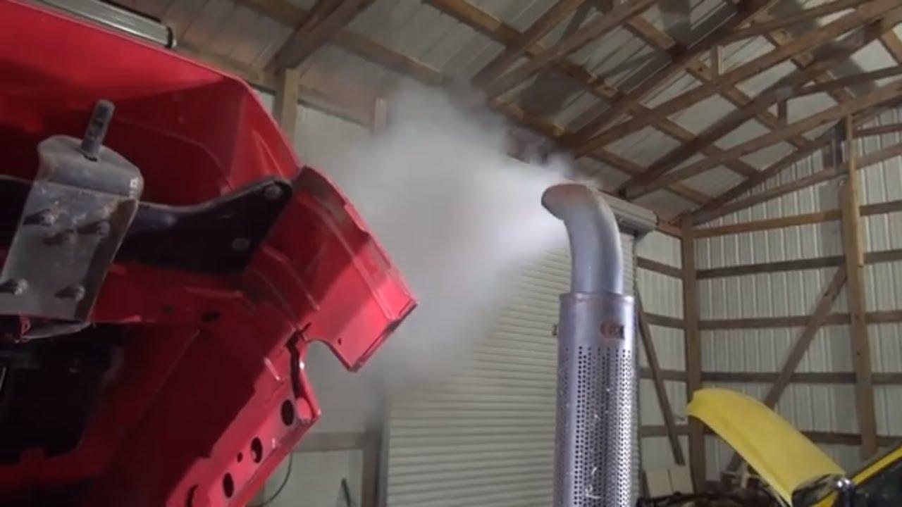 Mahindra 8560 part 9 white smoke fix adjust injector pump