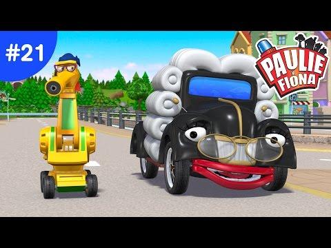 Paulie y Fiona 2 | 21La Mejor Ciudad De Todas | Caricaturas para Niños | Caricaturas en Español