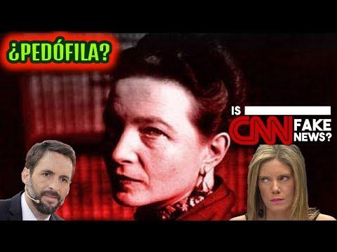 ¿Fue Simone de Beauvoir una Pedófila?, CNN Miente #FakeNews