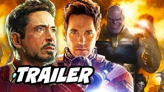 Avengers 4 Endgame Trailer - Time Travel Scene Explained Video