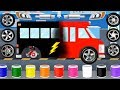 Build Cars Factory: Police Car, Fire Truck, Ambulance | Car Driving For Kids: Best iOS Apps For Baby