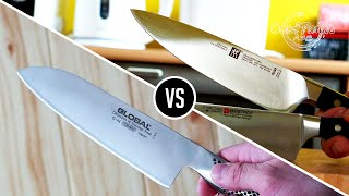 Santoku vs Chef knife - Which one is better Chef knife or Santoku? (western style chef knife*)