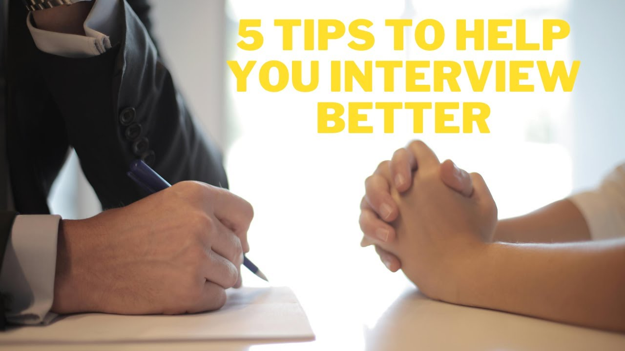 5 tips for better interviewing