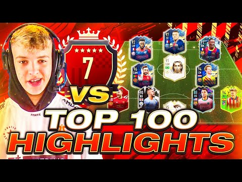 I PLAY 7TH IN THE WORLD! TOP 100 FUT CHAMPIONS HIGHLIGHTS! #FIFA21 ULTIMATE TEAM |