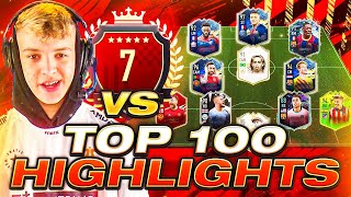 I PLAY 7TH IN THE WORLD! TOP 100 FUT CHAMPIONS HIGHLIGHTS! #FIFA21 ULTIMATE TEAM