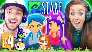 connectYoutube - ALI JOINS MY FARM! 💑🐄 (Staxel #4!🐷)