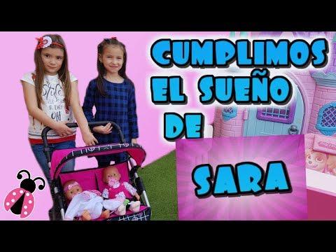 Un dia con una fan 👭 Cumplimos el sueño de Sara en Los juguetes de Arantxa
