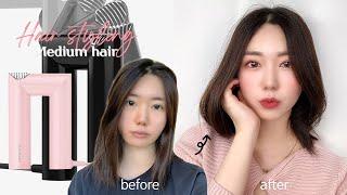 애매한 긴머리스타일링 + 머릿결 관리하는법♀️ (fe…