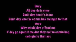 ENVY - NICKI MINAJ -LYRICS