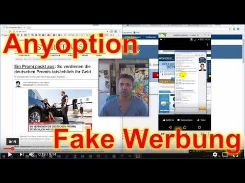 Anyoption Fake