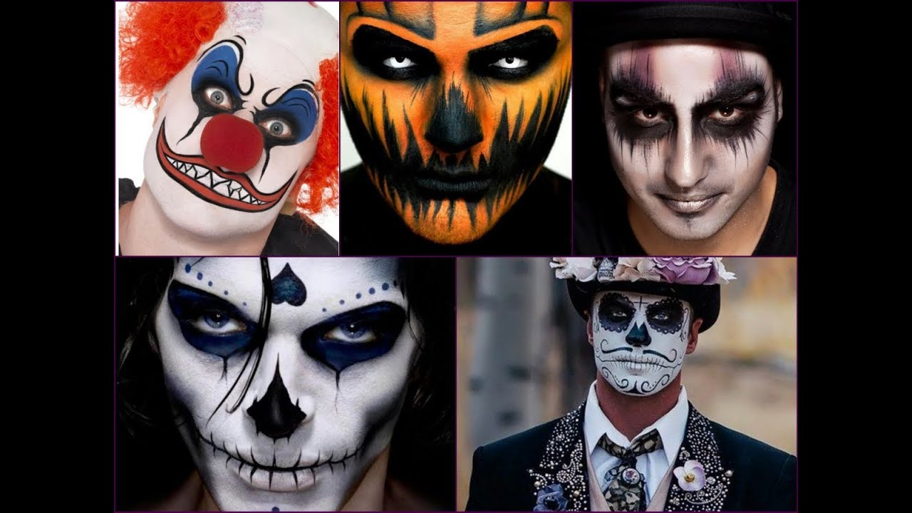 Halloween Makeup Looks For Guys.Top 30 Mens Halloween Makeup Ideas