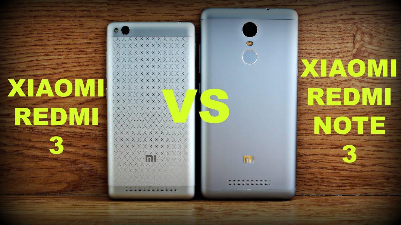 Xiaomi Redmi 3 Vs Note The Battle Of Xiaomies Youtube Pro