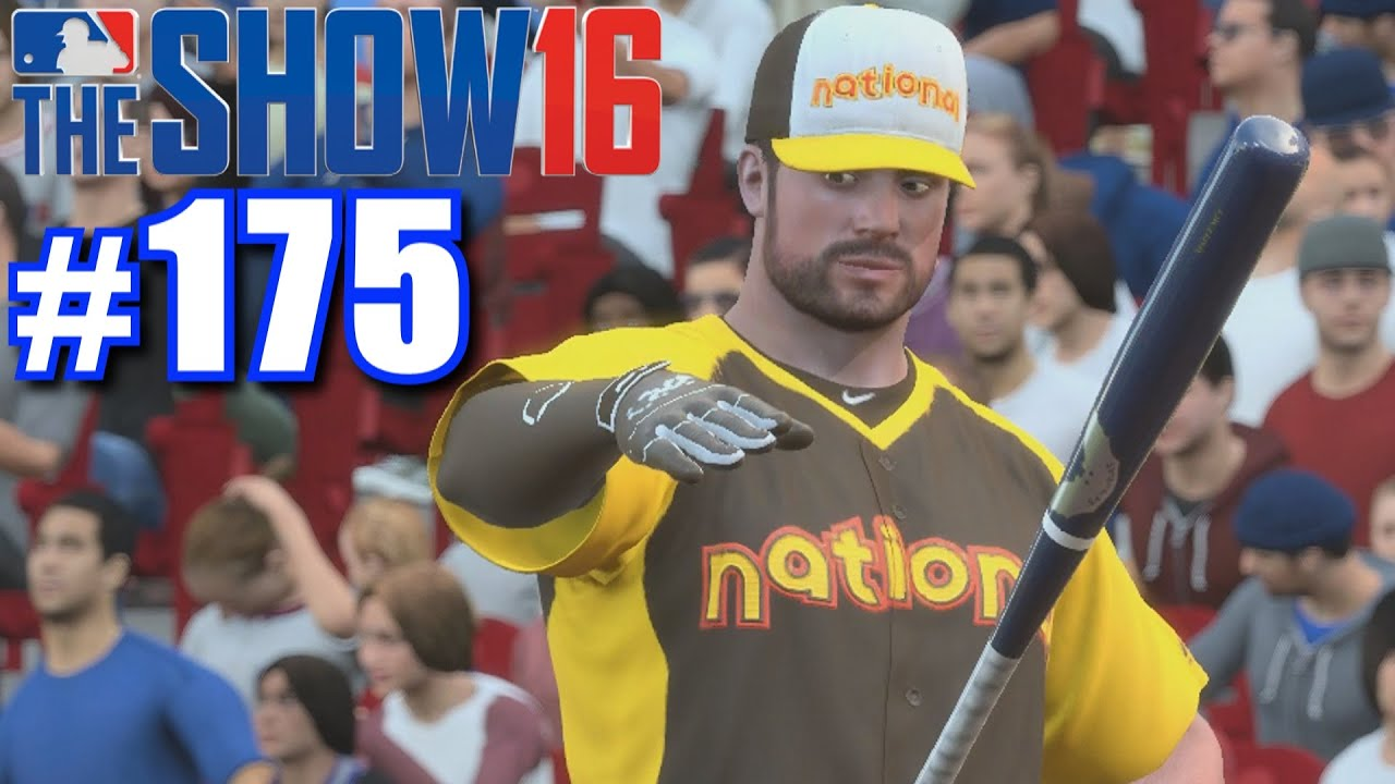 home run derby mlb  show  road   show  youtube