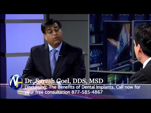 No More Dentures with Dental Implants, Rochester, NY Periodontist Suresh Goel, DDS, MSD